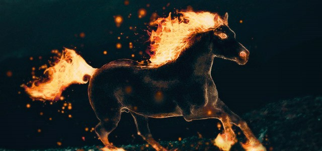 Illustration - Firehorse